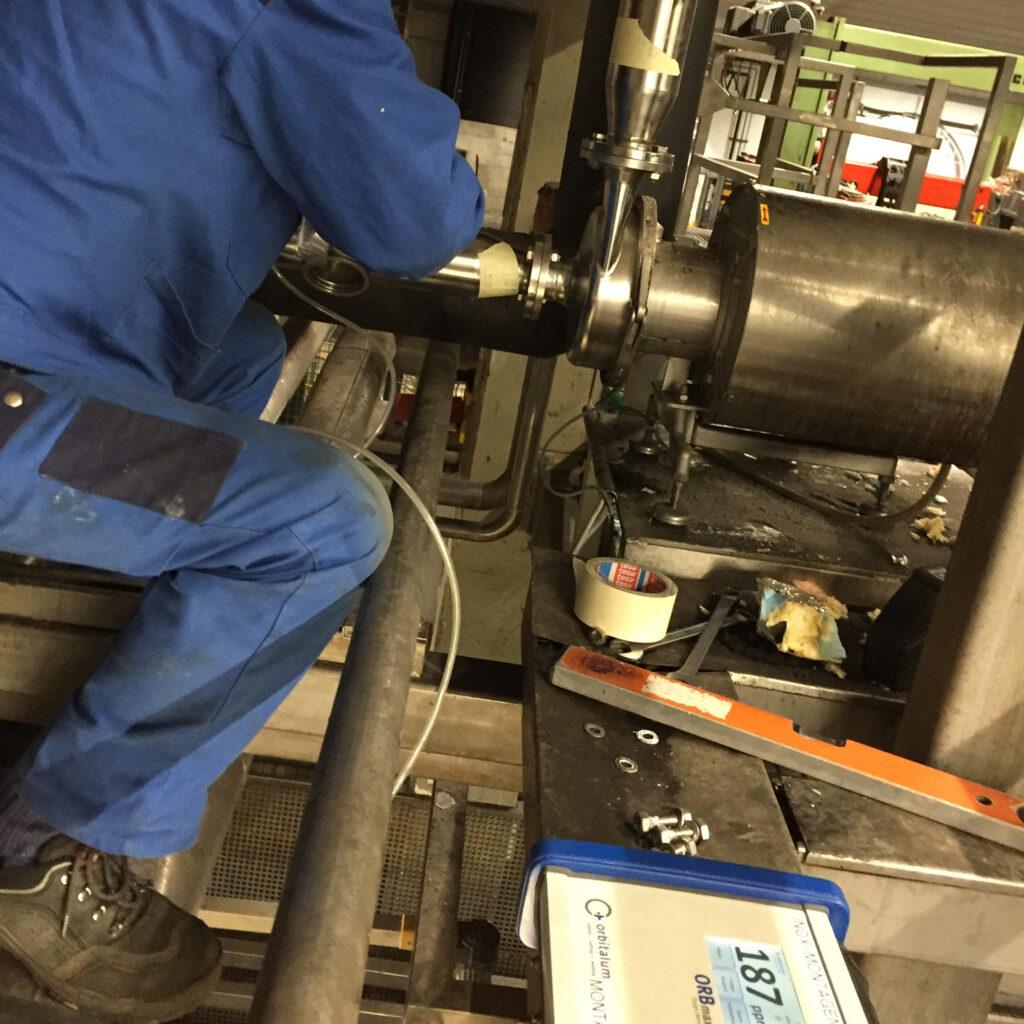 Prüfung der Schweissung mittels Restsauerstoff-Messgerät